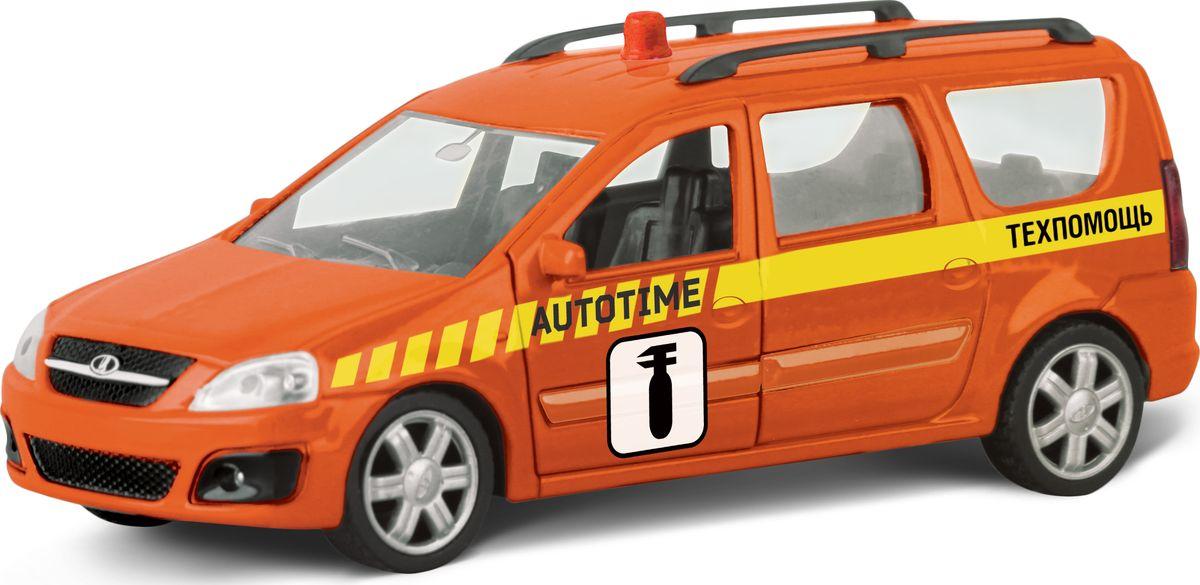 Autotime Модель автомобиля Lada Largus Техпомощь autotime модель автомобиля мaz 5335 цвет оранжевый