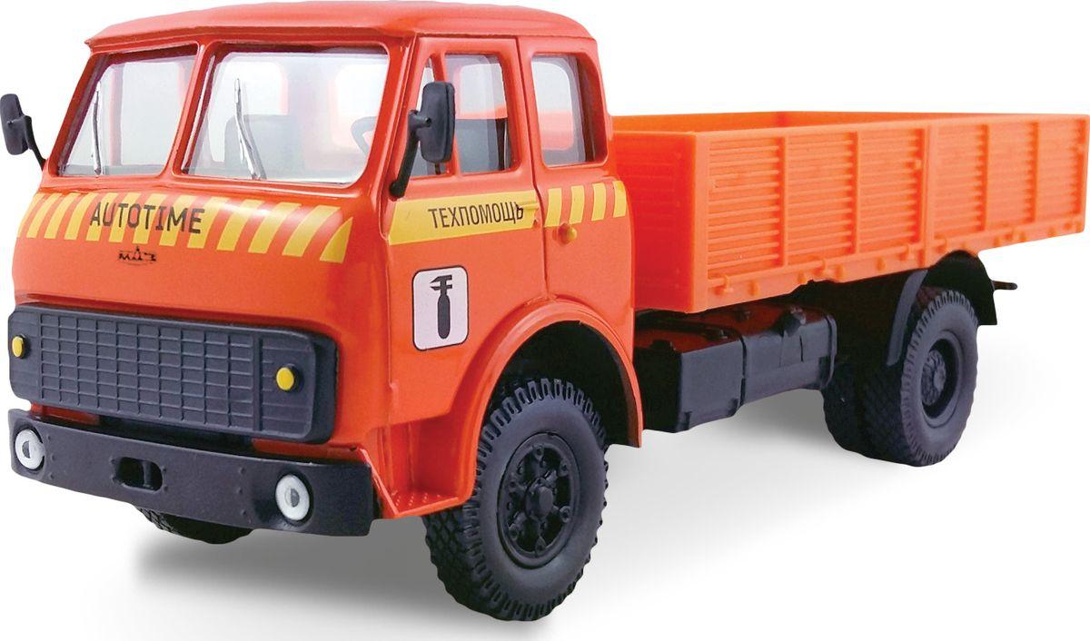 Autotime Модель автомобиля MAZ-5335 Техпомощь autotime модель автомобиля мaz 5335 цвет оранжевый