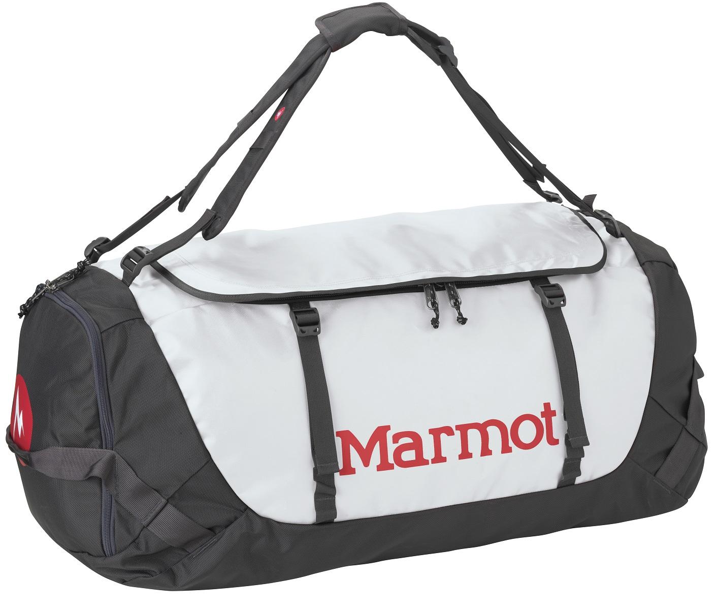 Сумка дорожная Marmot Long Hauler Duffel Bag Large, цвет: серый, 75 л25150-1230-L