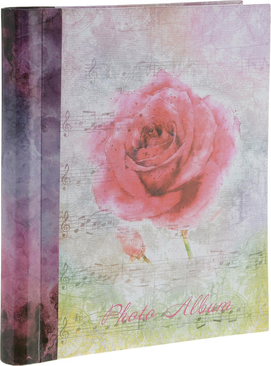 Фотоальбом Platinum Цветочная коллекция - 7, цвет: розовый, сереневый, 20 листов. 98212М2314_розаФотоальбом Platinum Цветочная коллекция - 7, изготовленный из ламинированного картона с клеевым покрытием и пленки ПВХ, поможет сохранить вам самые важные и счастливые события вашей жизни. Этот альбом станет драгоценной памятью для всей вашей семьи. Обложка выполнена из толстого картона и оформлена оригинальным рисунком. Внутри содержится 20 магнитных листов, которые крепятся с помощью спирали. Нам всегда так приятно вспоминать о самых счастливых моментах жизни, запечатленных на фотографиях. Размер листа: 23 х 28 см.
