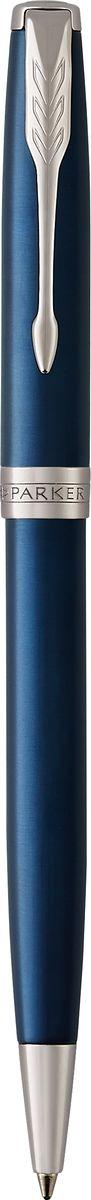 Parker Ручка шариковая Sonnet Laque Blue CTPARKER-1931536Материал корпуса: Нержавеющая сталь Покрытие корпуса: Глянцевый лак изысканного синего цвета Материал отделки деталей корпуса: Торец ручки: латунь, покрытая палладием. Зажим колпачка: сталь, покрытая палладием. Кольцо: латунь, покрытая палладием. Способ подачи стержня: Поворотный Сделано во Франции.