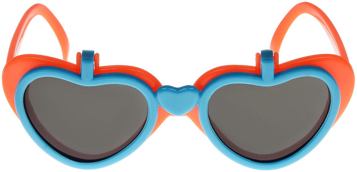 Очки солнцезащитные детские Vittorio Richi, цвет: оранжевый, синий. ОС517/17fОС517/17fОчки солнцезащитные Vittorio Richi это знаменитое итальянское качество и традиционно изысканный дизайн.