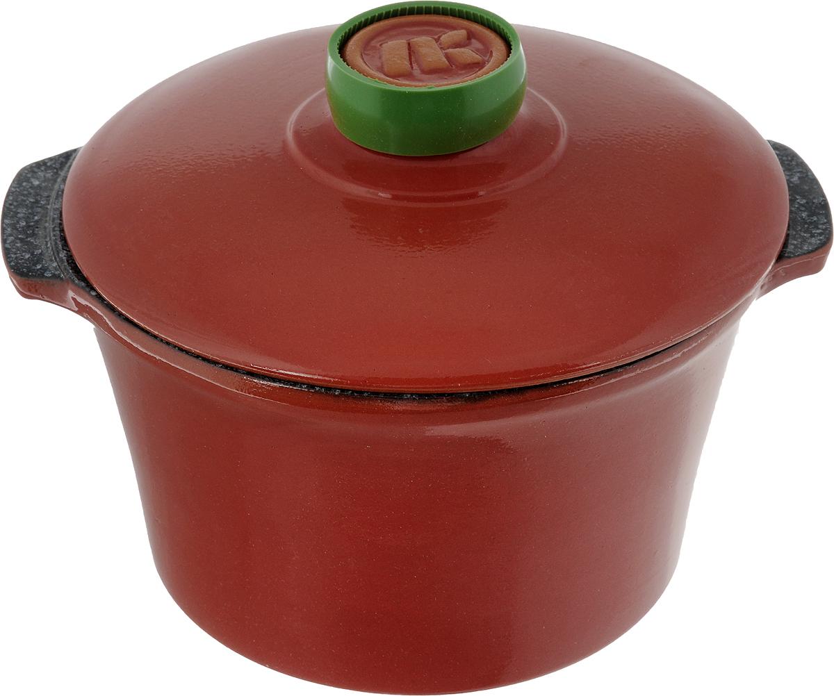 Кастрюля керамическая Ломоносовская керамика Огонек с крышкой, цвет: красный, мраморный, 2 л1КТкр/м-2Кастрюля Ломоносовская керамика Огонек выполнена из высококачественной термостойкой керамики. Покрытие абсолютно безопасно для здоровья, не содержит вредных веществ. Кастрюля оснащена удобными боковыми ручками и керамической крышкой. Она плотно прилегает к краям посуды, сохраняя аромат блюд. Подходит кастрюля для использования на всех типах плит. Для использования на индукционных плитах требуется специальный диск. Благодаря термостойкости материала, кастрюлю можно использовать в духовке и СВЧ. Разрешено мыть в посудомоечной машине. Диаметр: 19,5 см. Высота стенки: 11,5 см. Диаметр дна: 15 см. Ширина кастрюли (с учетом ручек): 22,5 см. Диаметр крышки: 20 см.