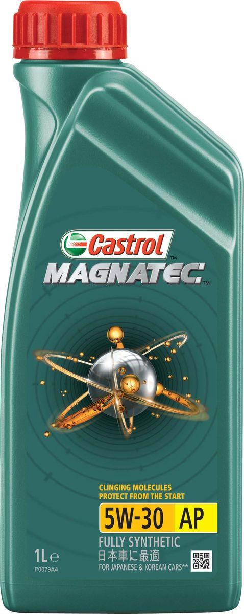 Моторное масло Castrol Magnatec 5W-30 AP, 1 л155BA7Описание До 75% износа двигателя происходит во время его пуска и прогрева. Когда двигатель выключен, обычное масло стекает в поддон картера, оставляя важнейшие детали двигателя незащищенными. Молекулы Castrol Magnatec подобно магниту притягиваются к деталям двигателя и образуют сверхпрочную масляную пленку, обеспечивающую дополнительную защиту двигателя в период пуска, когда риск возникновения износа существенно возрастает. Всесезонное полностью синтетическое моторное масло Castrol Magnatec 5W-30 AP разработано специально для двигателей японских и корейских автопроизводителей. Применение Моторное масло Castrol Magnatec 5W-30 AP подходит для применения в бензиновых двигателях, в которых производитель рекомендует использовать смазочные материалы соответствующие классу вязкости SAE 5W-30 и спецификациям API SN, ILSAC GF-5 или более ранним. Преимущества Молекулы Castrol Magnatec Intelligent Molecules: - удерживаются на важнейших деталях двигателя, когда обычное масло стекает в поддон...