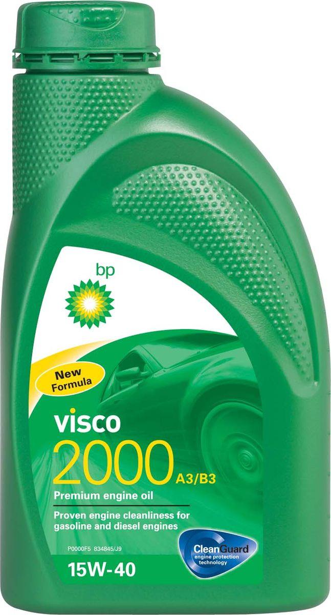 Моторное масло BP Visco 2000 A3/B3 15W-40 12, 1 л156DA8Применение BP Visco 2000 A3/B3 15W-40 с технологией защиты двигателя Cleanguard – это премиальное моторное масло предназначенное для использования в автомобильных бензиновых и дизельных двигателях, где производитель рекомендует масла соответствующие стандартам API SL/CF или ACEA A3/B3, или более ранним спецификациям. Основные преимущества BP Visco с технологией защиты двигателя Cleanguard: поддерживает чистоту Вашего двигателя длительное время. BP Visco 2000 A3/B3 15W-40 – качественное моторное масло со следующими преимуществами: - создано для бензиновых и дизельных двигателей; - доказанная чистота двигателя; - надёжная защита двигателя в нормальных режимах вождения. Спецификации API SL/CF ACEA A3/B3 MB-Approval 229.1 VW 501 01 / 505 00 Meets Fiat 9.55535-D2