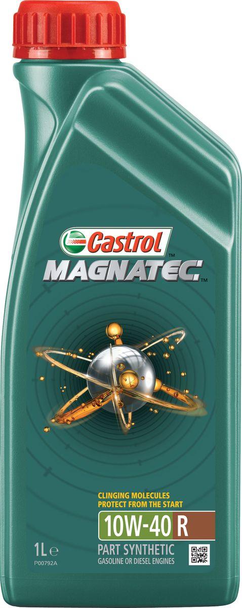 """Моторное масло Castrol Magnatec 10W-40 A3/B4, 1 л156EB3Описание До 75% износа двигателя происходит во время его пуска и прогрева. Когда двигатель выключен, обычное масло стекает в поддон картера, оставляя важнейшие детали двигателя незащищенными. Молекулы Castrol Magnatec подобно магниту притягиваются к деталям двигателя и образуют сверхпрочную масляную пленку, обеспечивающую дополнительную защиту двигателя в период пуска, когда риск возникновения износа существенно возрастает. Применение Моторное масло Castrol Magnatec 10W-40 R подходит для применения в бензиновых и дизельных двигателях, в которых производитель рекомендует использовать смазочные материалы соответствующие классу вязкости SAE 10W-40 и спецификациям ACEA A3/B4, A3/B3, API SL/CF или более ранним. Castrol Magnatec 10W-40 R одобрено к использованию в автомобилях ведущих производителей техники (см. раздел «Спецификации» и руководство по эксплуатации автомобиля). Преимущества Компоненты пакета присадок моторного масла Castrol Magnatec """"Intelligent Molecules"""": - в сочетании с..."""