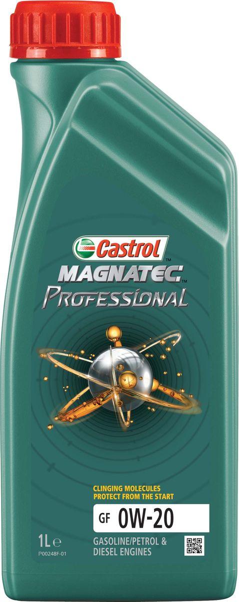 Моторное масло Castrol Magnatec Professional GF 0W-20, 1 л156EC9Описание Моторное масло Castrol Magnatec Professional значительно снижает износ двигателя*. При выключенном двигателе моторное масло стекает в поддон картера, оставляя важнейшие детали двигателя незащищенными. В отличие от остальных масел молекулы Castrol Magnatec Professional притягиваются к деталям двигателя, образуя сверхпрочную масляную пленку, обеспечивающую дополнительную защиту с первой секунды пуска двигателя. Продукт прошел процесс микрофильтрации и сертифицирован как CO2-нейтральный в соответствии с высочайшими мировыми стандартами. Для профессионального использования на СТО. * согласно отраслевому тесту на износ Sequence IVA Применение Моторное масло Castrol Magnatec Professional GF 0W-20 предназначено для применения в бензиновых двигателях автомобилей, где производитель рекомендуют смазочные материалы спецификаций API SN, ILSAC GF-5 или более ранних, класса вязкости SAE 0W-20. Преимущества Молекулы Castrol Magnatec Professional: - притягиваются к деталям двигателя, образуя...