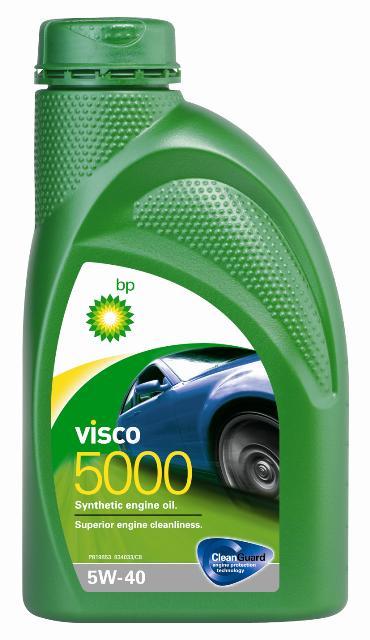Моторное масло BP Visco 5000 5W-40 12, 1 л15805FОписание Моторные масла BP Visco CleanGuard™ препятствуют образованию отложений в двигателе, обеспечивая его бесперебойную работу. Система Clean Guard™ защищает двигатель и дольше поддерживает его в чистоте. Чистый двигатель прослужит дольше и будет работать более эффективно. В условиях повседневной эксплуатации автомобиля в двигателе скапливаются продукты сгорания. Если эти примеси своевременно не удалить, они будут образовывать отложения, которые зачастую становятся главной причиной снижения эффективности работы двигателя и его поломок. Моторные масла BP Visco CleanGuard™ содержат особые компоненты, которые предотвращают образование вредных отложений на стенках рабочих поверхностей двигателя. Применение Моторное масло BP Visco 5000 5W-40 предназначено для бензиновых и дизельных двигателей автомобилей, где производитель рекомендует смазочные материалы класса вязкости SAE 5W-40 спецификаций ACEA A3/B3, A3/B4, API SN/CF или более ранних. BP Visco 5000 5W-40 одобрено к применению...