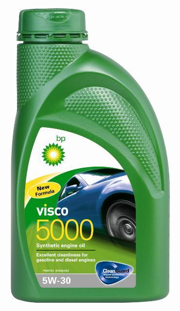 Моторное масло BP Visco 5000 5W-30 12, 1 л15806FОписание Моторные масла BP Visco CleanGuard™ препятствуют образованию отложений в двигателе, обеспечивая его бесперебойную работу. Система Clean Guard™ защищает двигатель и дольше поддерживает его в чистоте. Чистый двигатель прослужит дольше и будет работать более эффективно. В условиях повседневной эксплуатации автомобиля в двигателе скапливаются продукты сгорания. Если эти примеси своевременно не удалить, они будут образовывать отложения, которые зачастую становятся главной причиной снижения эффективности работы двигателя и его поломок. Моторные масла BP Visco CleanGuard™ содержат особые компоненты, которые предотвращают образование вредных отложений на стенках рабочих поверхностей двигателя. Применение Моторное масло BP Visco 5000 5W-30 предназначено для бензиновых и дизельных двигателей автомобилей, где производитель рекомендует смазочные материалы класса вязкости SAE 5W-30 спецификаций ACEA A3/B3, A3/B4, API SL/CF или более ранних. BP Visco 5000 5W-30 одобрено к применению рядом...