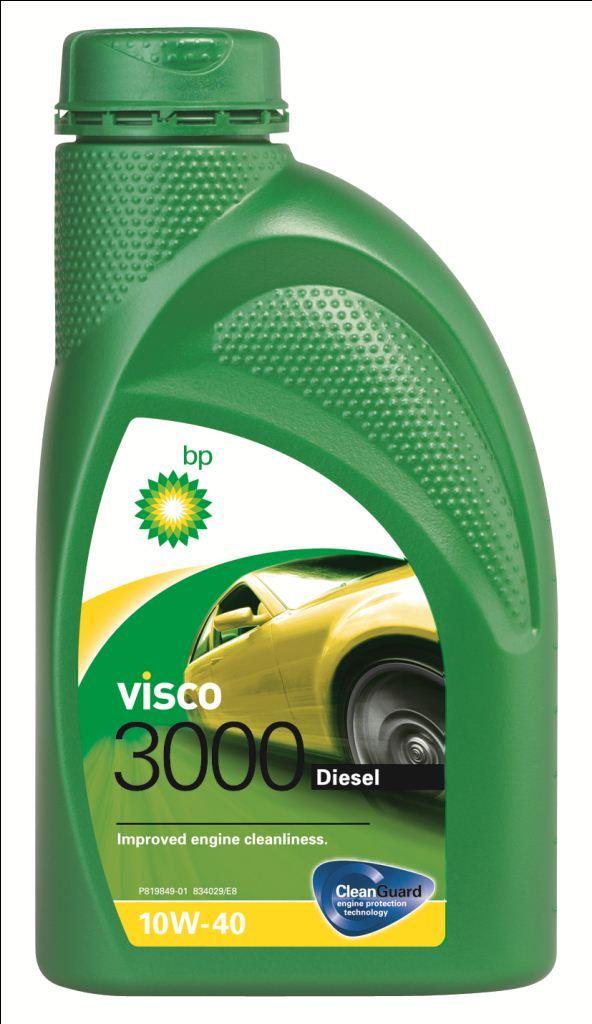 Моторное масло BP Visco 3000 Diesel 10W-40 12, 1 л15870CПрименение BP Visco 3000 Diesel 10W-40 с технологией защиты двигателя Cleanguard – это полусинтетическое моторное масло для использования в дизельных двигателях легковых автомобилей, где производитель рекомендует масла соответствующие стандартам API SL/CF или ACEA A3/B3, или более ранним спецификациям. Visco 3000 Diesel 10W-40 также одобрено к применению в двигателях автомобилей VW и Mercedes, где требуются масла спецификаций VW 505 00 или MB 229.1. Основные преимущества CleanGuardTM – это надежная защита Вашего двигателя. BP Visco. Чистый двигатель. Еще дольше. BP Visco 3000 Diesel 10W-40 – всесезонное полусинтетическое моторное масло с высокими эксплуатационными характеристиками. Обеспечиваются следующие преимущества: - Чистота двигателя способствует снижению износа и увеличению срока службы двигателя благодаря CleanGuardTM. - Дополнительная защита от износа в условиях интенсивной повседневной эксплуатации. - Пониженный расход масла на угар. Спецификации • ACEA A3/B3, A3/B4 • API...