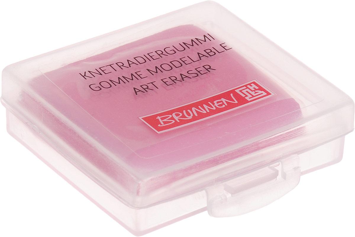 Brunnen Ластик-пластилин цвет розовый29984BLN/BCD_розовыйЛастик-пластилин Brunnen станет незаменимым аксессуаром на рабочем столе не только школьника или студента, но и офисного работника. Ластик выполнен в виде кубика пластилина и имеет мягкую текстуру, благодаря чему ему можно придать любую форму. Такой ластик поднимет настроение и станет оригинальным сувениром.