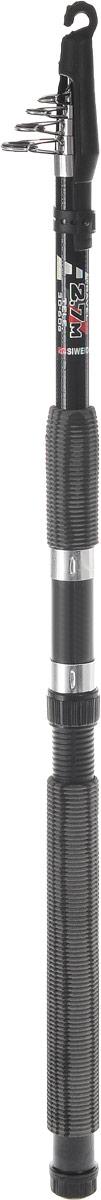 Удилище спиннинговое SWD Bull-Paul, телескопическое, 2,7 м, 30-60 г13-20-2-072Удилище спиннинговое SWD Bull-Paul изготовлено из высококачественного стеклопластика, что обеспечивает ему легкость и прочность. Телескопическая конструкция обеспечивает изделию легкость транспортировки, вы сможете взять его с собой куда угодно. Удилище оснащено металлическими кольцами. Ручка из мягкого неопрена не выскальзывает из рук, приятна на ощупь. Дополнительно может использоваться в качестве донного или поплавочного удилища.