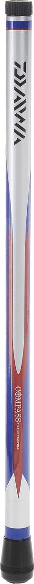 Удилище маховое Daiwa Compass Mobile Telepole, 4 м51580Телескопическое маховое удилище Daiwa Compass Mobile Telepole оснащено короткими коленами. В собранном состоянии длина составляет всего 42 см, что позволит вам взять удилище в любое путешествие. Бланк из графитового материала делает удилище легким, но исключительно прочным.