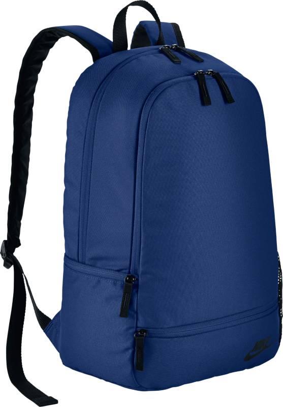 Рюкзак Nike Classic North-Solid, цвет: синий. BA5274-455BA5274-455Рюкзак Nike Classic North Solid - это неповторимый стиль и возможность хранить все, что тебе нужно. Рюкзак отличает вместительное основное отделение с двойной молнией и многочисленные карманы. Рюкзак из плотного полиэстера 600D с высокой износостойкостью. Мягкие регулируемые лямки и спинка для комфортного и удобного ношения. Имеется боковой карман на молнии для надежного хранения мелочей.