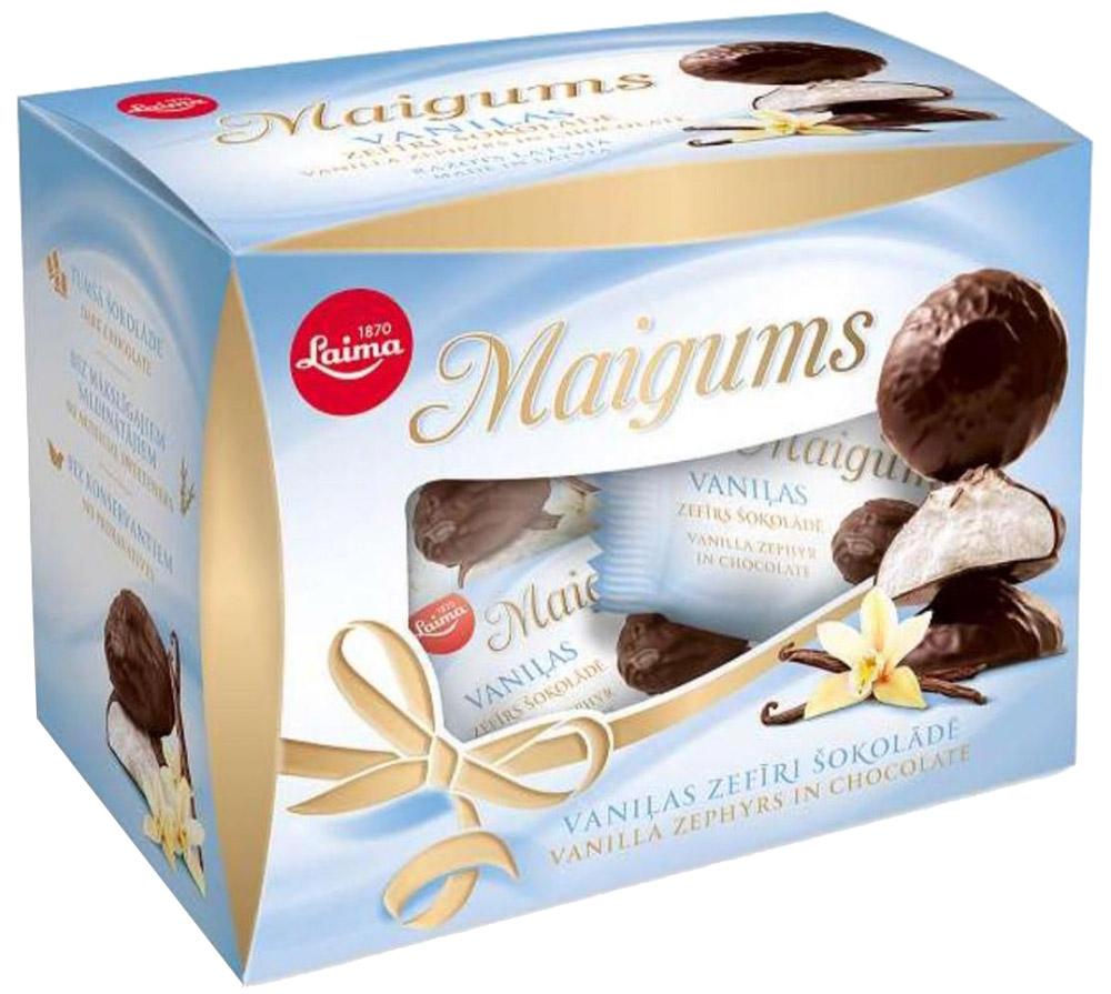 Laima зефир в шоколаде со вкусом ванили Майгумс, 185 г
