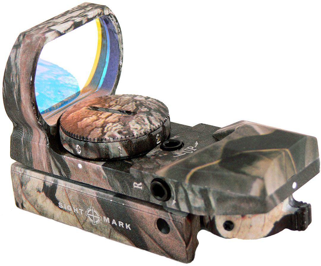 """Прицел коллиматорный """"Sightmark"""", панорамный камуфляжный на планку 11 мм, со сменной маркой SM13003C-DT"""