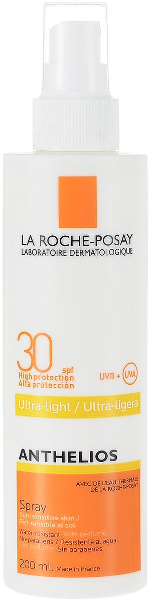 La Roche Posay Спрей для лица и тела Anthelios SPF30+, 200 млM5844403Антгелиос спрей для лица и тела SPF 30 + - это идеальная фотозащита для любого типа кожи, даже самой чувствительной, склонной к покраснениям, при нахождении в регионах с высокой инсоляцией. Обновляется каждые два часа при длительном нахождении на солнце. Обеспечивает очень высокую защиту от ожогов, аллергических реакций на солнце. Обеспечивает высокую профилактику фотостарения, пигментации, новообразований кожи. Не оставляет белых следов на коже. Устойчив к действию воды в течение 40 минут. Формула продукта эффективна на открытом солнце до 6 часов. Обеспечивает высокую безопасность, в том числе для очень чувствительной кожи. Матирует на 8 часов.