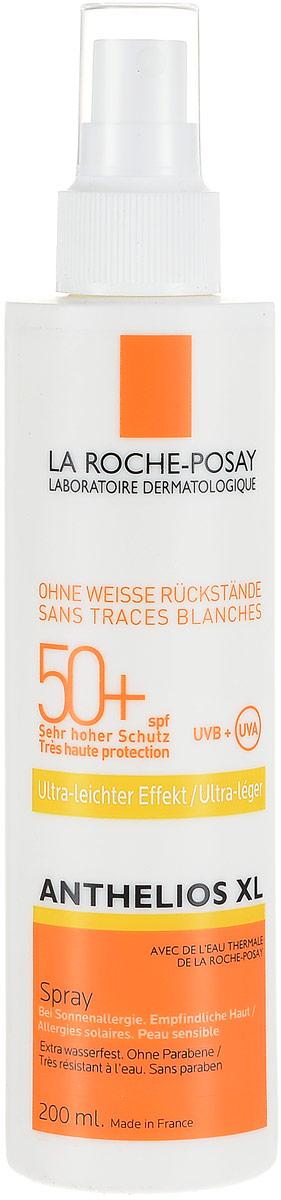 La Roche Posay Спрей для лица и тела Anthelios XL SPF50+, 200 млM0683601Антгелиос XL спрей для лица и тела SPF 50+ - это идеальная фотозащита для любого типа кожи, даже самой чувствительной, склонной к покраснениям, при нахождении в регионах с высокой инсоляцией. Обновляется каждые два часа при длительном нахождении на солнце. Обеспечивает очень высокую защиту от ожогов, аллергических реакций на солнце. Обеспечивает высокую профилактику фотостарения, пигментации, новообразований кожи. Не оставляет белых следов на коже. Устойчив к действию воды в течение 40 минут. Формула продукта эффективна на открытом солнце до 6 часов. Обеспечивает высокую безопасность, в том числе для очень чувствительной кожи. Матирует на 8 часов