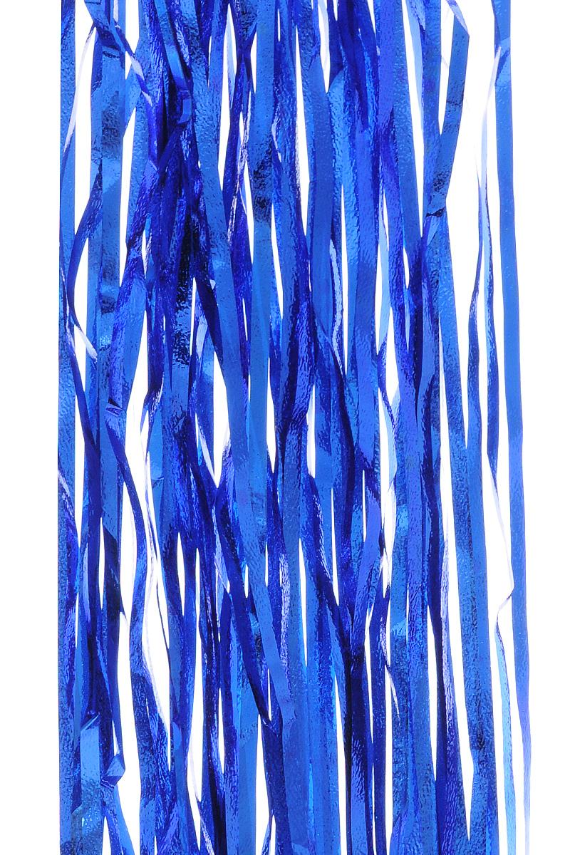 Дождик новогодний Sima-land, цвет: синий, 18,5 см х 100 см. 702535702535 _синийДождик новогодний Sima-land, изготовленный из фольги, поможет вам украсить свой дом к предстоящим праздникам. Новогодняя елка с таким украшением станет еще наряднее. Новогодним дождиком можно украсить все, что угодно - елку, квартиру, дачу, офис - как внутри, так и снаружи. Можно сложить новогодние поздравления, буквы и цифры, дождиком можно украсить и дополнить гирлянды, можно выделить дверные колонны, оплести дверные проемы. Ширина: 18,5 см. Длина: 100 см.