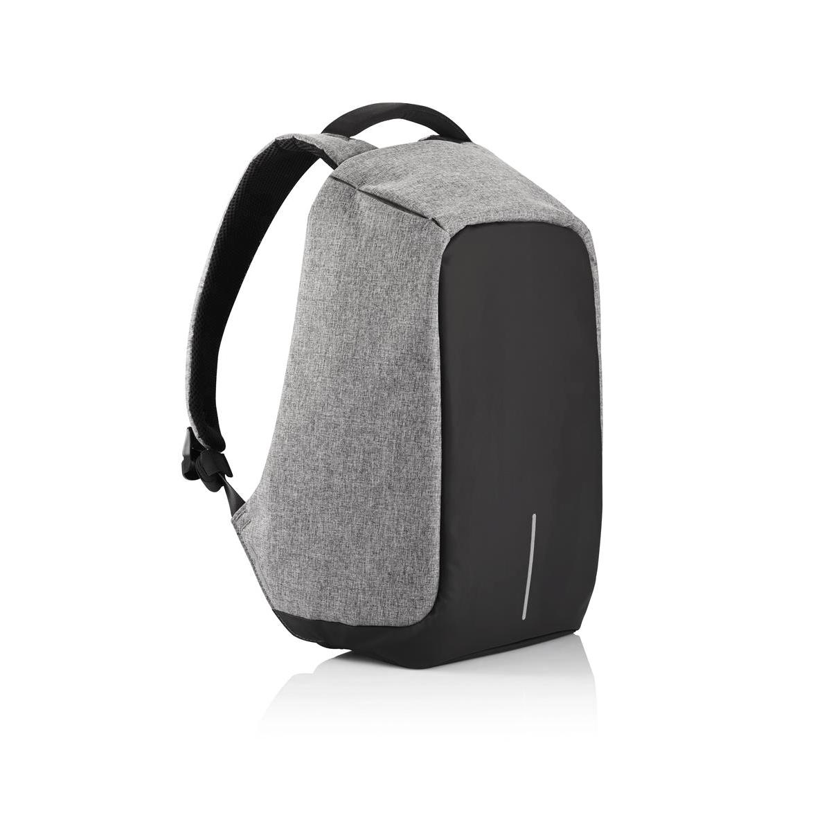 Рюкзак для ноутбука до 15 XD Design Bobby, цвет: серый. Р705.542Р705.542• Полная защита от карманников: не открыть, не порезать • USB-порт для зарядки гаджетов от спрятонного внутри рюкзака аккумулятора • Светоотражающие полосы • Супер-легкий: на 25% легче аналогов • Отделение для ноутбука до 15,6 • Отделение для планшета • Влагозащита • Лямка для крепления на чемодан