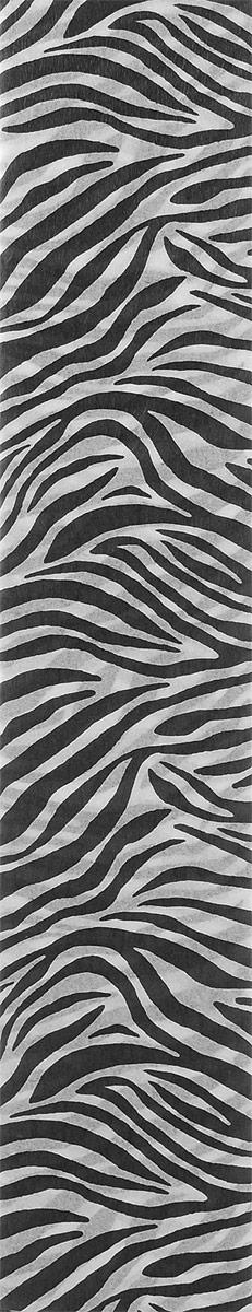 Mazari Бумага крепированная Анималистичные принты Зебра 5 листов 50 х 250 смМ-8841_зебраКрепированная бумага Mazari Анималистичные принты: Зебра - отличный вариант для воплощения творческих идей не только детей, но и взрослых. Она отлично подойдет для упаковки хрупких изделий, оформления букетов, создания сложных цветовых композиций, для декорирования и других оформительских работ. Бумага обладает повышенной прочностью и жесткостью, хорошо растягивается, имеет жатую поверхность. В комплект входят 5 листов бумаги, оформленные принтом в виде полосок зебры. Крепированная бумага поможет увлечь ребенка, развивая интерес к художественному творчеству, эстетический вкус и восприятие, а также поможет развить самостоятельность, мелкую моторику и аккуратность. Размер: 50 см х 250 см. Плотность: 17 г/м2. Коэффициент растяжения: 20%.