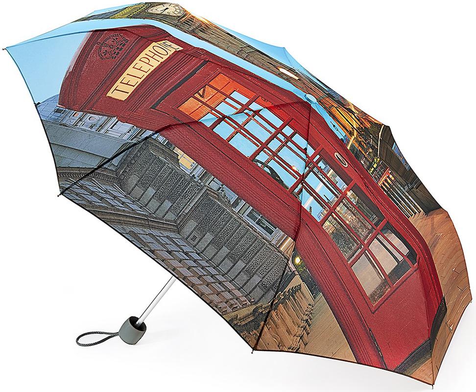 Зонт женский Fulton, механический, 3 сложения, цвет: мультиколор. L354-3348L354-3348 LondonSceneСтильный механический зонт Fulton имеет 3 сложения, даже в ненастную погоду позволит вам оставаться стильной. Легкий, но в тоже время прочный алюминиевый каркас состоит из восьми спиц с элементами из фибергласса. Купол зонта выполнен из прочного полиэстера с водоотталкивающей пропиткой. Рукоятка закругленной формы, разработанная с учетом требований эргономики, выполнена из каучука. Зонт имеет механический способ сложения: и купол, и стержень открываются и закрываются вручную до характерного щелчка.