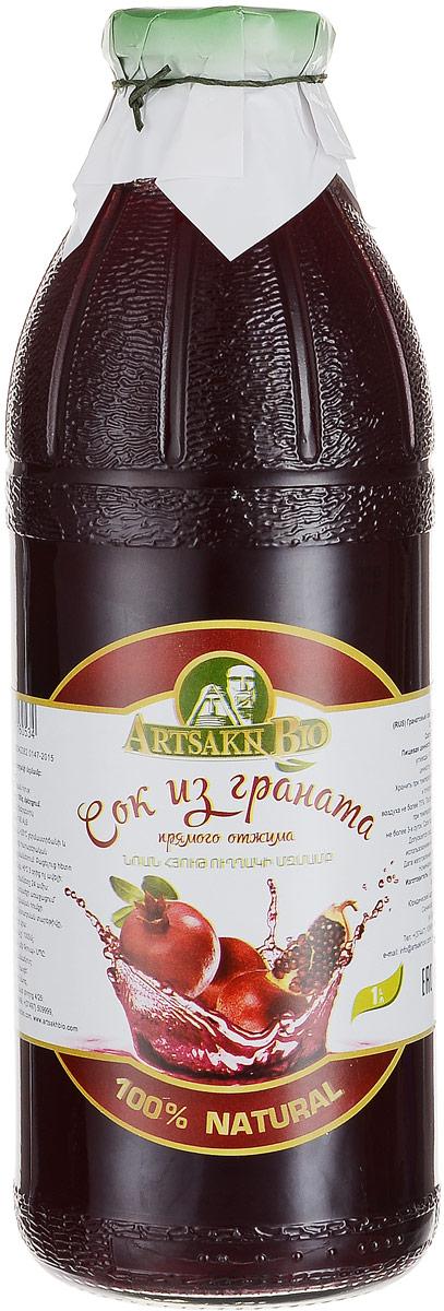 Artsakh Bio сок из граната, 1 л120211020009Гранатовый сок изготовлен из сочных плодов граната методом прямого отжима. Этот напиток привлекает своим насыщенным бордовым оттенком и приятным освежающим вкусом.