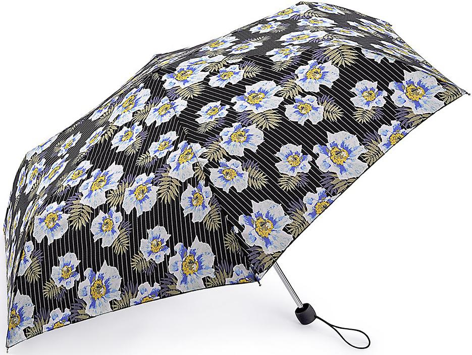 Зонт женский Fulton, механический, 3 сложения, цвет: мультиколор. L553-3375L553-3375 PinstripeFlowerСтильный механический зонт Fulton имеет 3 сложения, даже в ненастную погоду позволит вам оставаться стильной. Легкий, но в тоже время прочный алюминиевый каркас состоит из шести спиц с элементами из фибергласса. Купол зонта выполнен из прочного полиэстера с водоотталкивающей пропиткой. Рукоятка закругленной формы, разработанная с учетом требований эргономики, выполнена из каучука. Зонт имеет механический способ сложения: и купол, и стержень открываются и закрываются вручную до характерного щелчка.