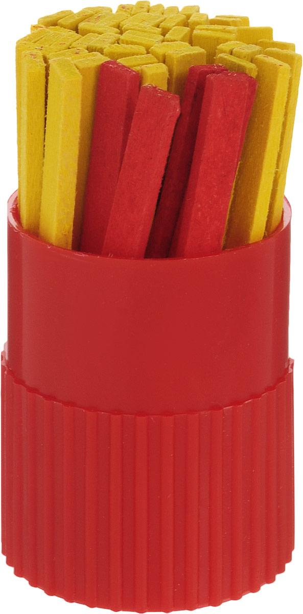 Красная звезда Набор счетных палочек цвет упаковки красный 50 шт