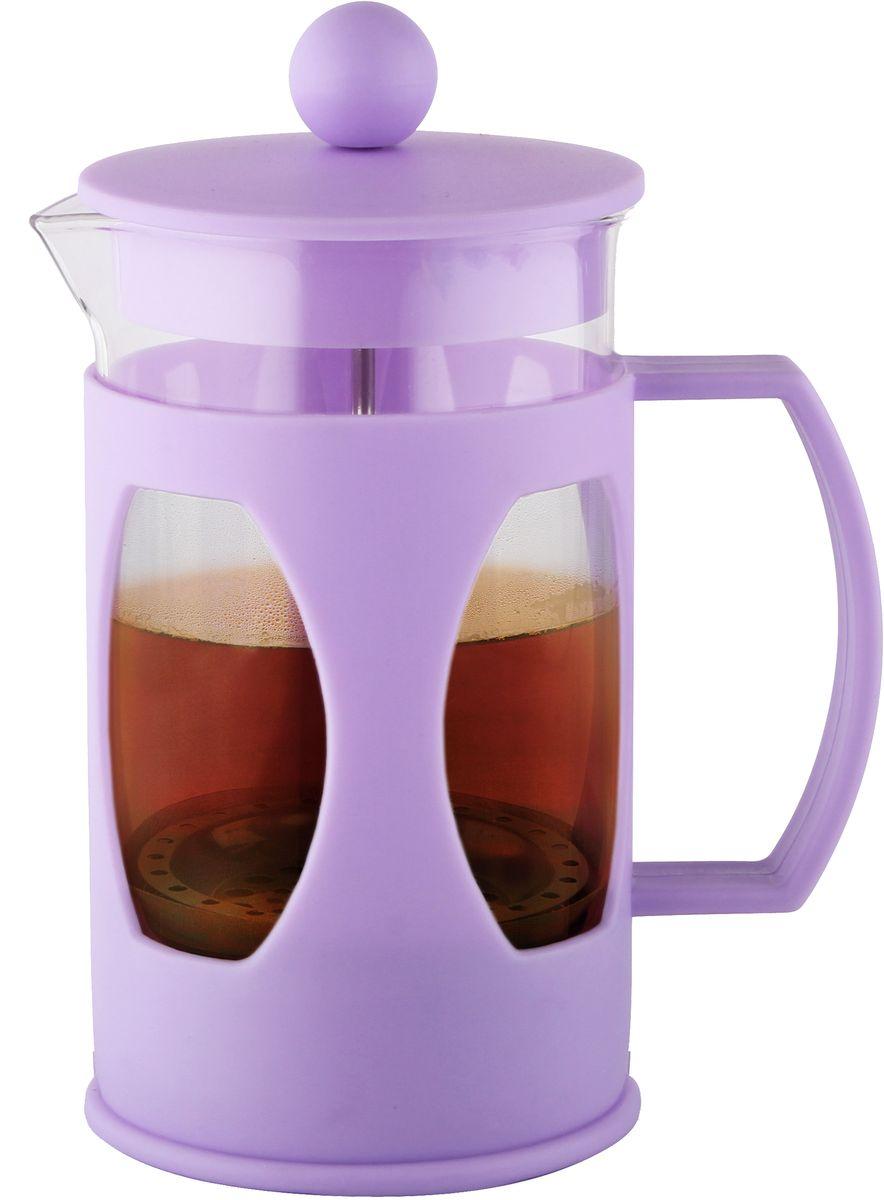 Заварочный чайник Fissman Mokka, с поршнем, 600 мл. 9004FP-9004.600