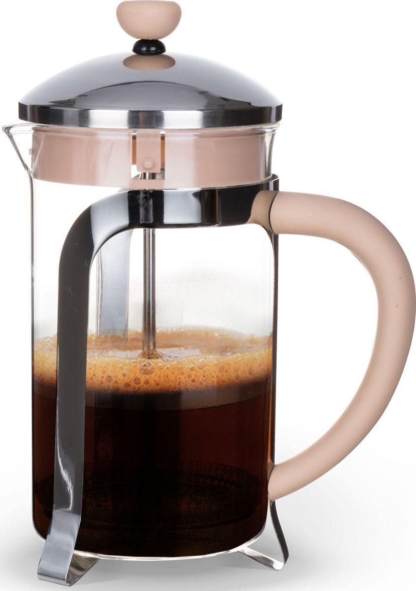 """Заварочный чайник Fissman """"Cafe Glace"""", с поршнем, 350 мл. 9054 FP-9054.350"""