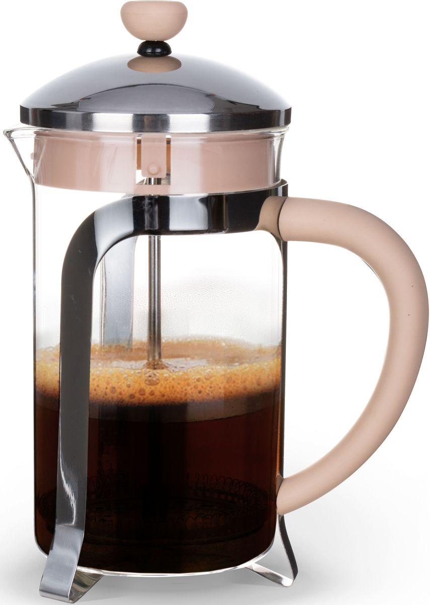 Заварочный чайник Fissman Cafe Glace, с поршнем, 1000 мл. 9057FP-9057.1000