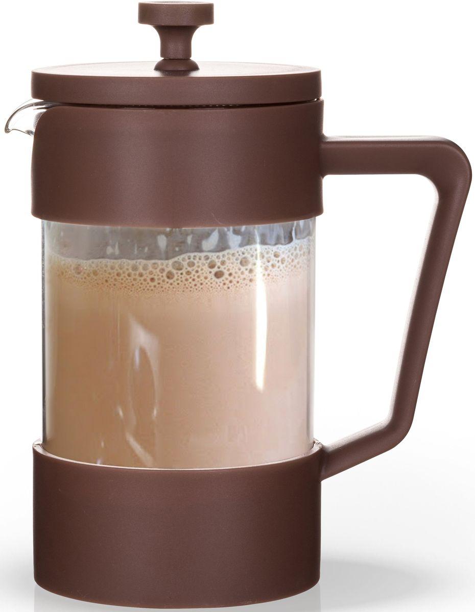 Заварочный чайник Fissman, с поршнем, 600 мл. 9060FP-9060.600