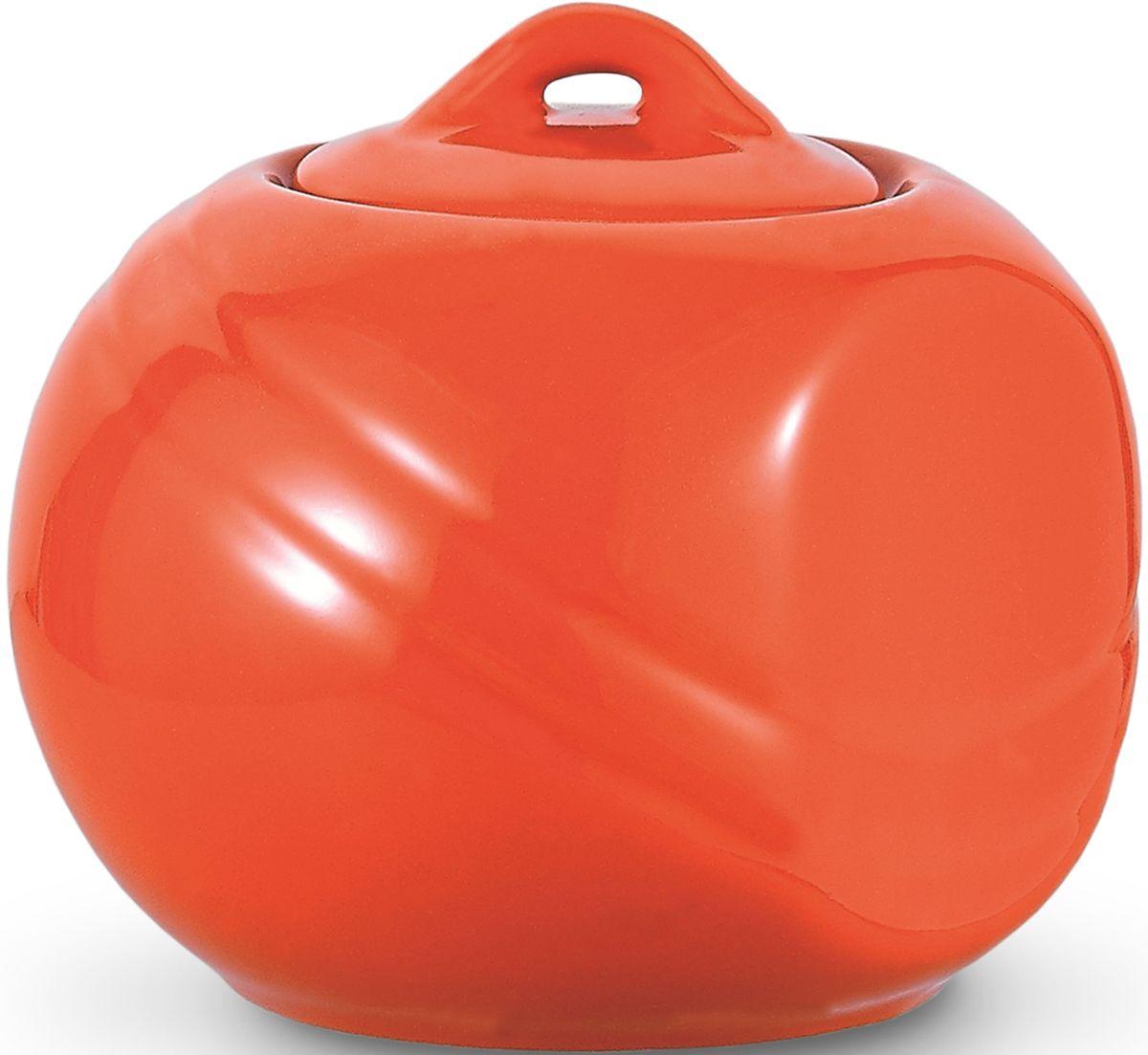 Сахарница Fissman, цвет: оранжевый, 350 мл. 9280SB-9280.350