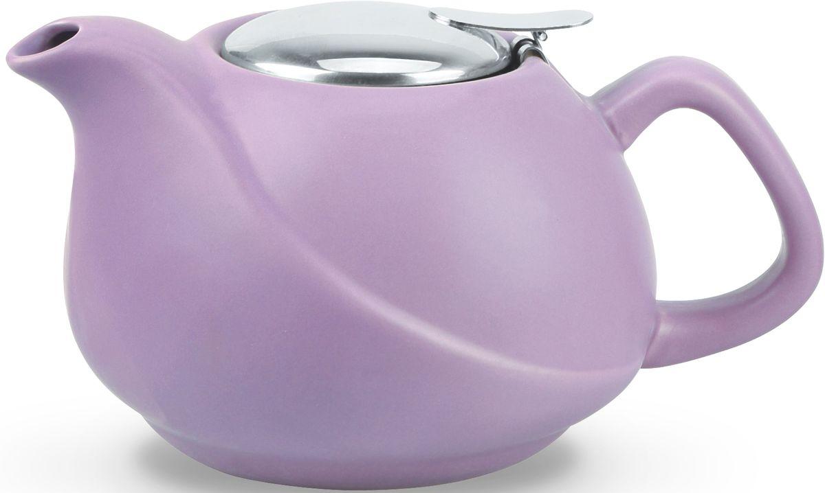 Заварочный чайник Fissman, с ситечком, цвет: лиловый, 750 мл. 9326TP-9326.750