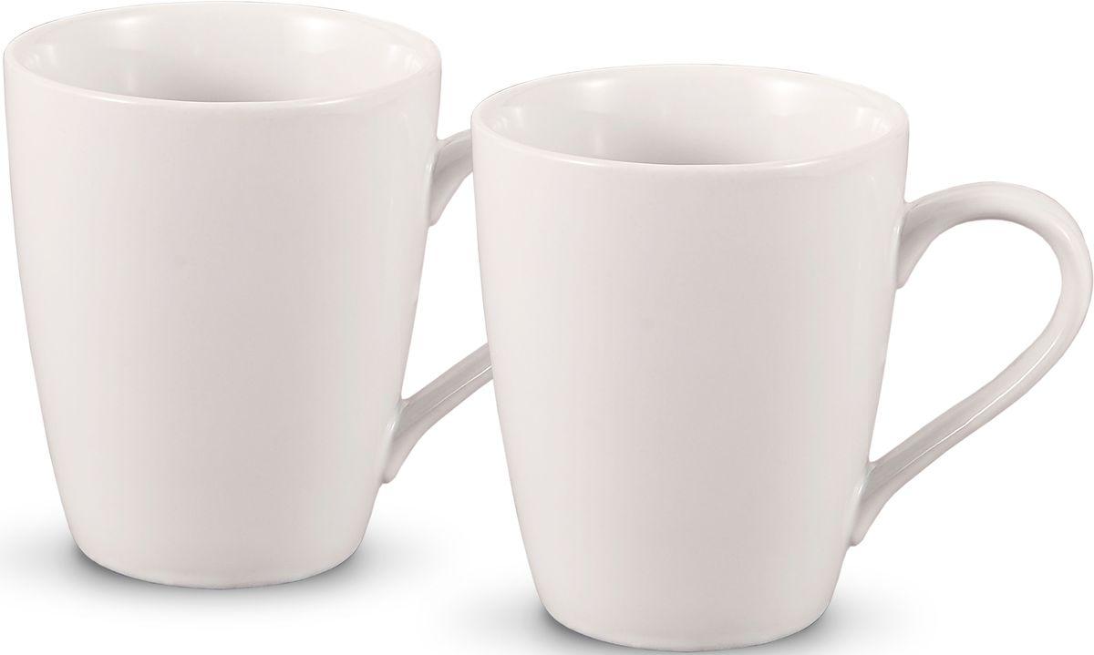 Комплект кружек Fissman, цвет: белый, 300 мл, 2 шт. 9340SC-9340.300