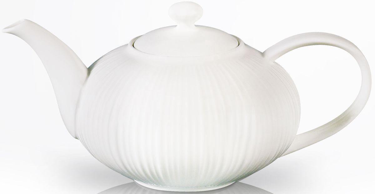 Заварочный чайник Fissman Elegance White, 1000 мл. 9351TP-9351.1000