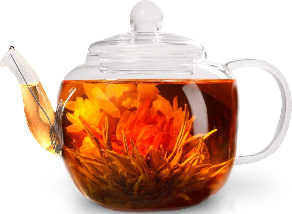 Заварочный чайник Fissman Lucky, со стальным фильтром, 800 мл. 9359TP-9359.800