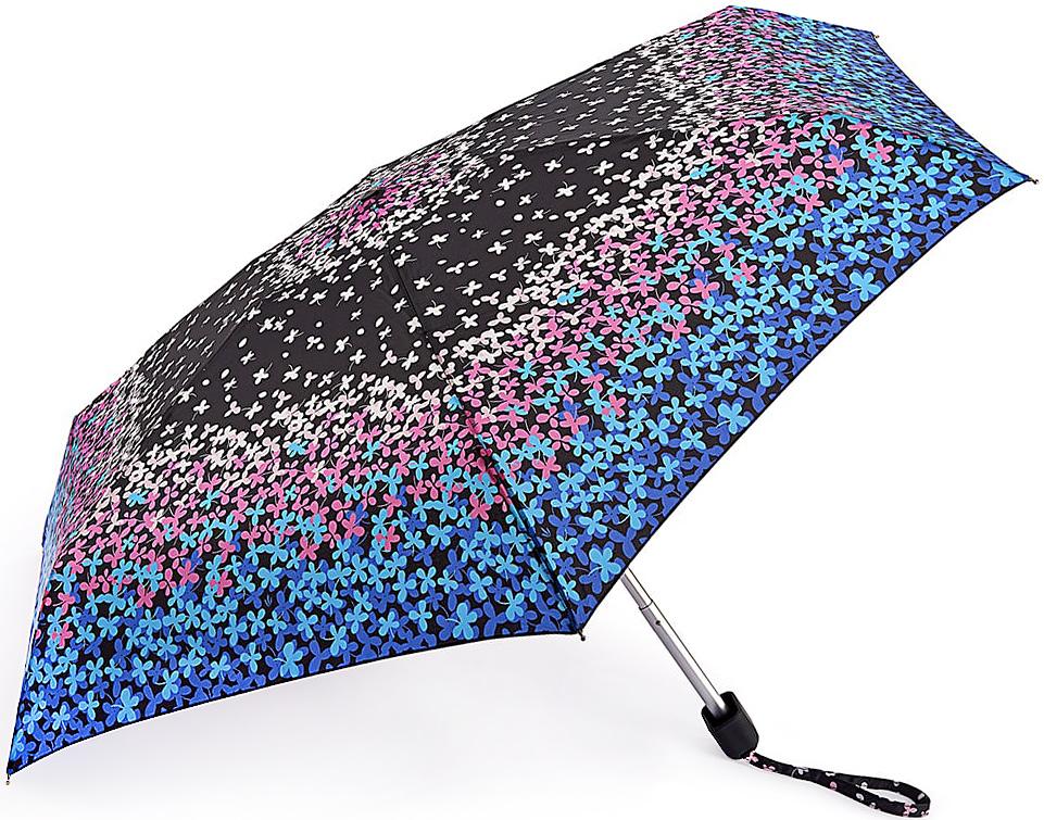 Зонт женский Fulton, механический, 5 сложений, цвет: мультиколор. L501-3367L501-3367 CloverFallСтильный механический зонт Fulton имеет 5 сложений, даже в ненастную погоду позволит вам оставаться стильной. Легкий, но в тоже время прочный алюминиевый каркас состоит из шести спиц с элементами из фибергласса. Купол зонта выполнен из прочного полиэстера с водоотталкивающей пропиткой. Рукоятка закругленной формы, разработанная с учетом требований эргономики, выполнена из каучука. Зонт имеет механический способ сложения: и купол, и стержень открываются и закрываются вручную до характерного щелчка.