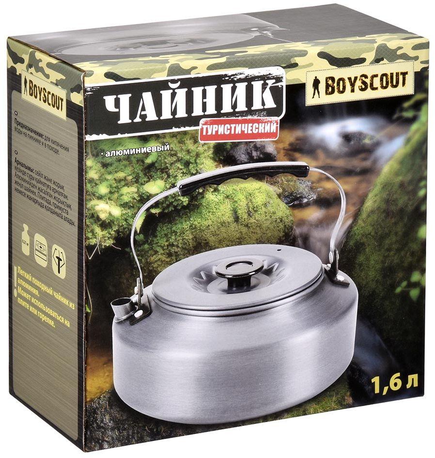 Чайник Boyscout Туристический, 1,6 л61169Для кипячения воды на пикнике и в походе.