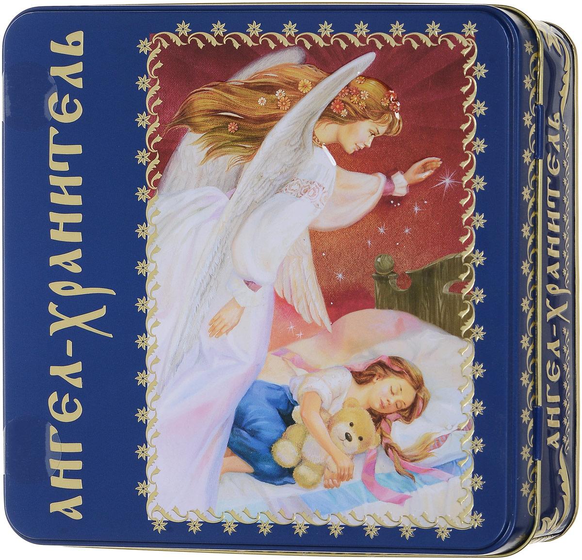 Вера, Надежда, Любовь Ангел-Хранитель подарочный набор черного листового чая, 125 г40116Ангел-Хранитель - ангел, добрый дух, данный человеку Богом при крещении для помощи и руководства. Ангел-Хранитель невидимо находится при человеке на протяжении всей его жизни, если человек сохраняет в себе любовь к Богу и истинную веру перед Ним. Задача Ангела-Хранителя - способствовать спасению подопечного. Ангелы-Хранители духовно наставляют в вере и благочестии, охраняют души и тела, заступаются за них в течение земной их жизни, молят о них Бога, не оставляют их, наконец, после смерти и отводят души окончивших земную жизнь в вечность.