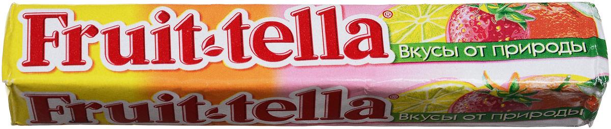 Fruittella Ассорти конфеты жевательные, 41 г