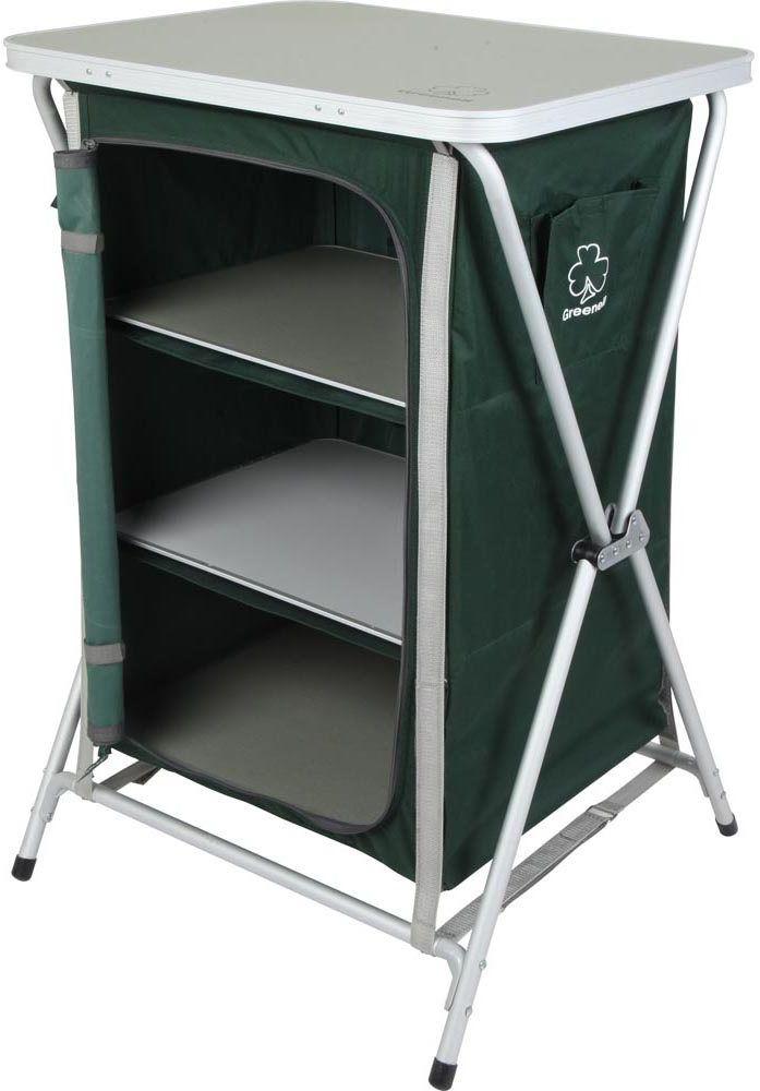 Стеллаж складной Greenell FR-1, цвет: зеленый, 30 кг95219-303-00Многофункциональный складной стеллаж.