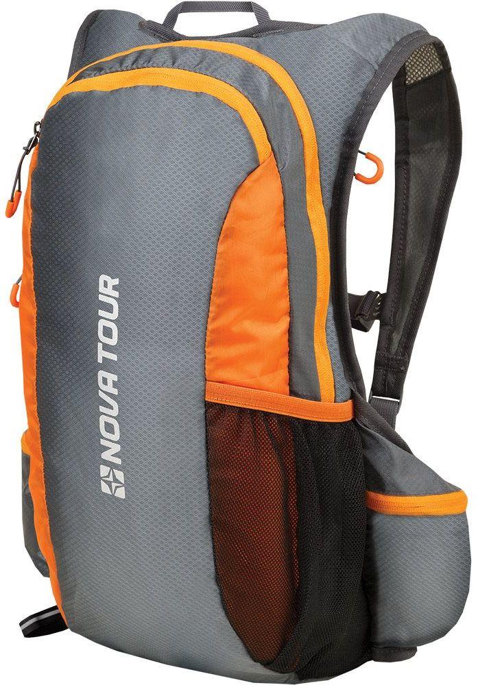 Рюкзак спортивный Nova Tour Фотон, 20 л, цвет: серый95761-974-00Легкий спортивный рюкзак с мягкой спиной, отдельным карманом под гидратор. Подойдет для длительных пробежек, ориентирования и мультигонок