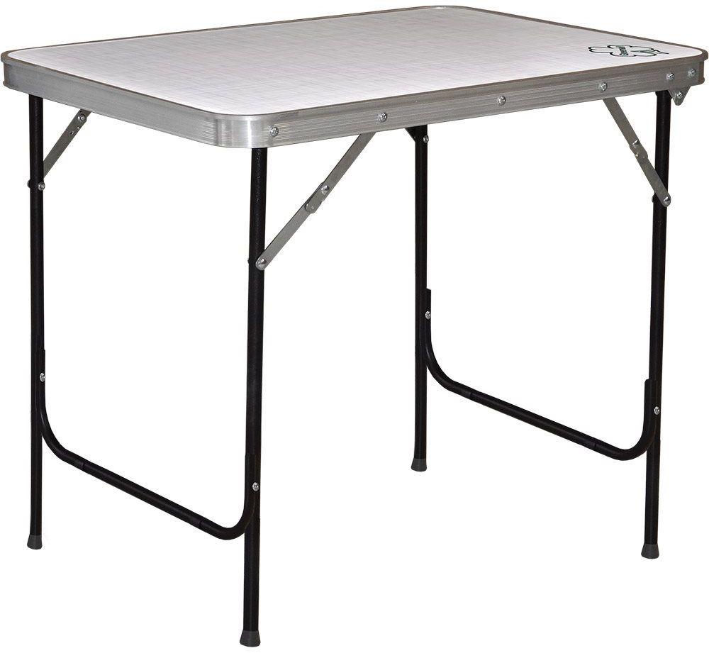 Стол складной Greenell FT-13 R22, цвет: серый, 30 кг95981-000-00Увеличенный размер от популярной модели. Нет ничего лишнего.