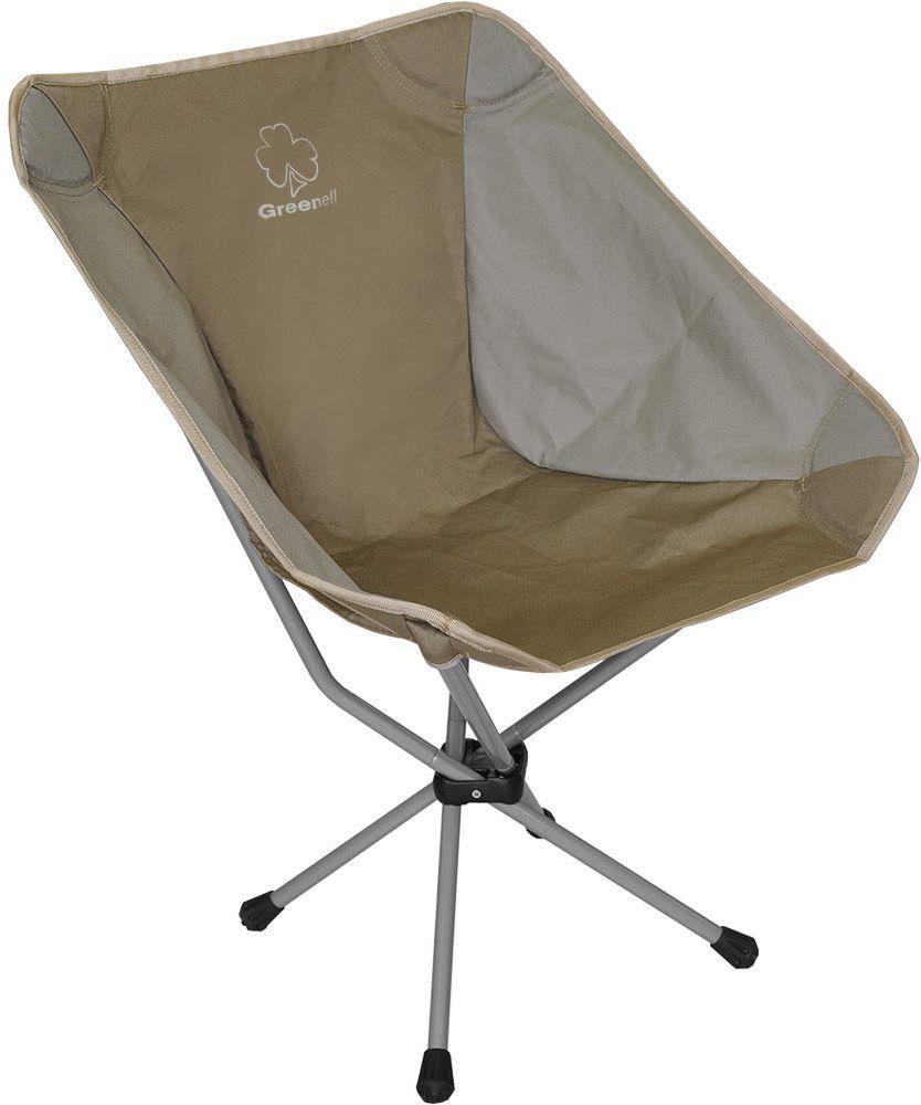 Стул складной Greenell Эйр FC-22, цвет: коричневый, 100 кг95988-232-00Полноценный стул для отдыха при минимальных размерах в сложеном виде.
