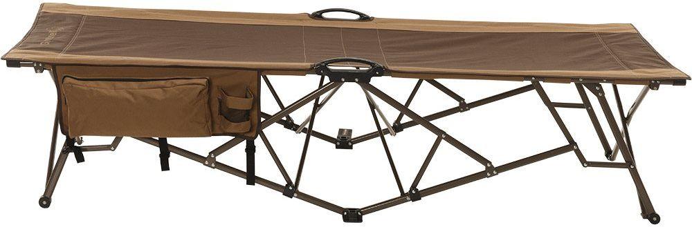 Кровать складная Greenell Элит BD-9, цвет: коричневый, 160 кг95993-232-00Надежная кровать для Больших людей.