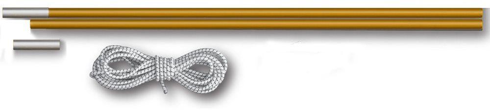 Комплект для дуг фиберглас Greenell, диаметр 7,9 мм, цвет: желтый96003-0-00Комплект дуг фиберглас D 7,9 мм