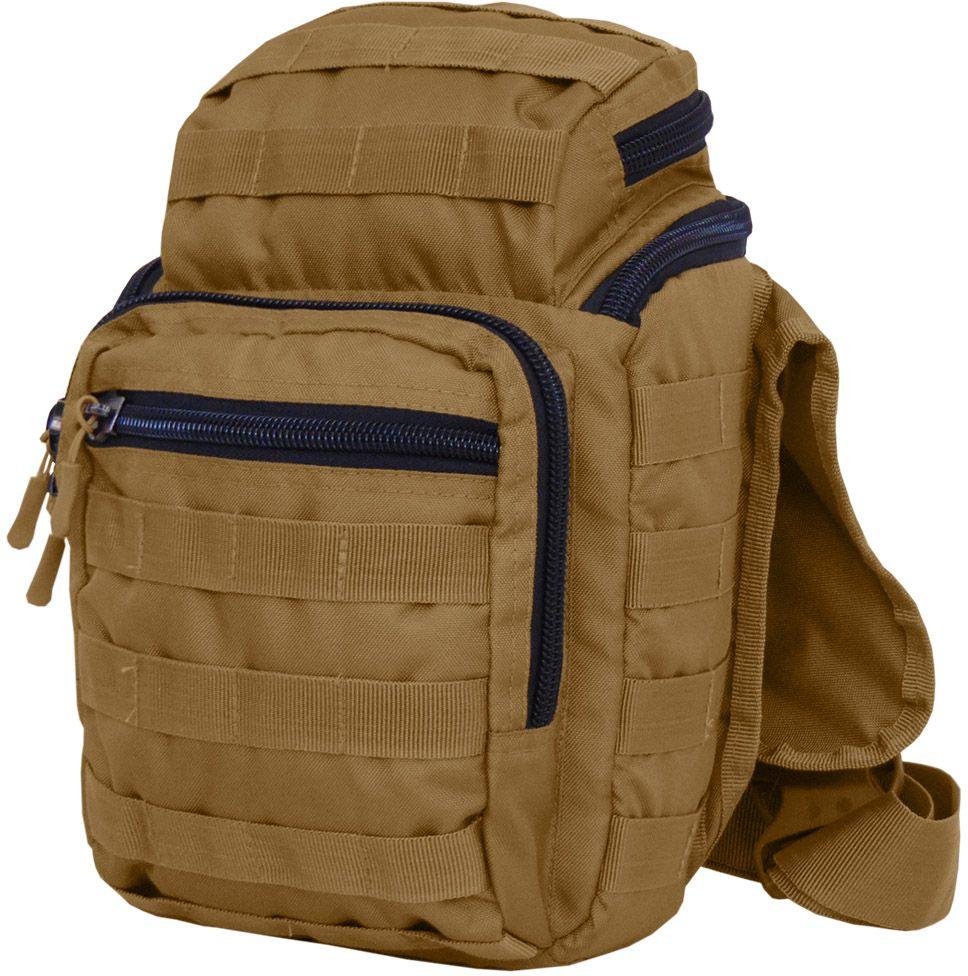 Сумка тактическая HunterMan Nova Tour Кнот, цвет: коричневый95946-220-00Многофункциональная сумка