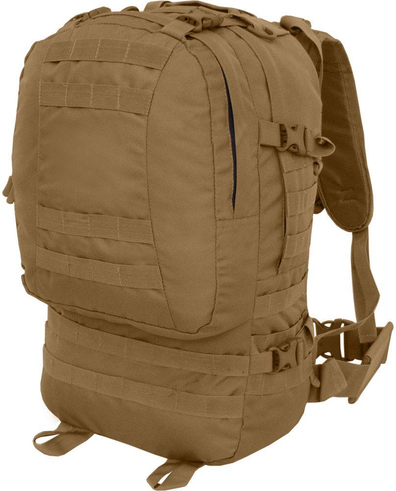 Рюкзак тактический HunterMan Nova Tour Дрейп, 50 л, цвет: коричневый95945-220-00Тактический рюкзак с подсумками